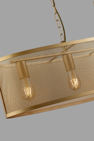 Chantilly 4 Light Oval Pendant by Searchlight