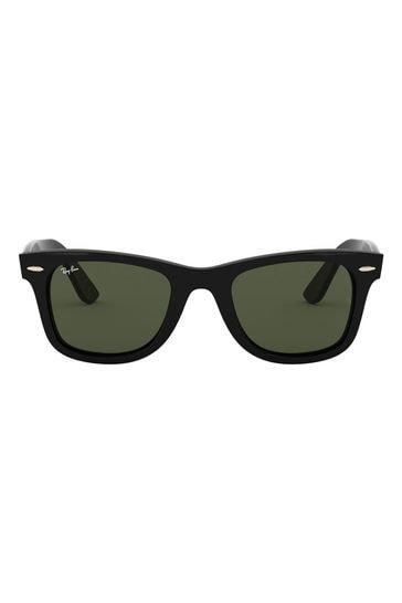 Ray-Ban® Black Wayfarer Ease Sunglasses