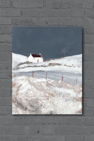 One Winter's Night by Louise O'Hara Canvas