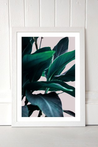 Leaves IV by Marieke Bohemer Framed Print
