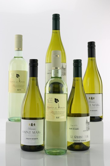 Le Bon Vin Aromatic White Wine Selection Half Case 75cl