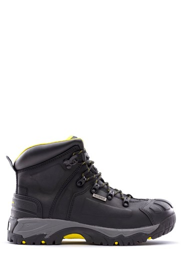 Amblers Safety Black AS803 Waterproof Wide Fit Safety Boots