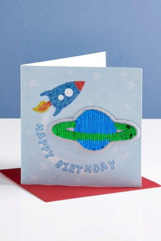 Planet Birthday Card