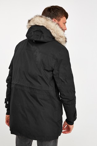 Alegrarse Mente nuez  Buy Timberland® Black Nordic Edge Parka from Next Ireland