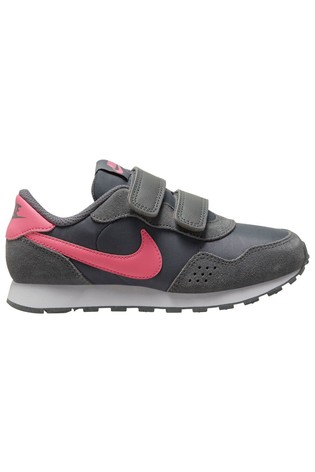Nike Grey/Pink/Yellow MD Valiant Junior Trainers