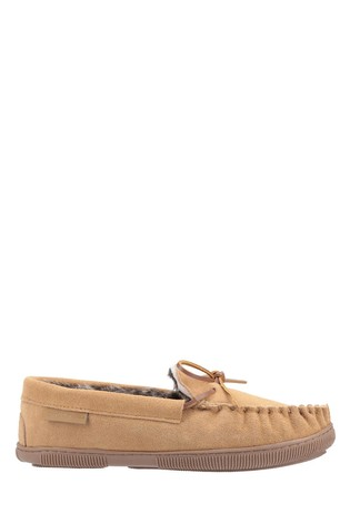Hush Puppies Tan Ace Slippers