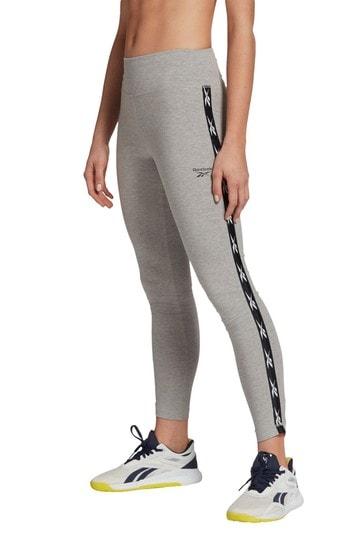 Reebok Training Grey Essentials Tape Leggings