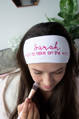Personalised Beauty Headband by Solesmith