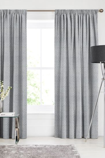 Danube Blue Inspira Made To Measure Curtains