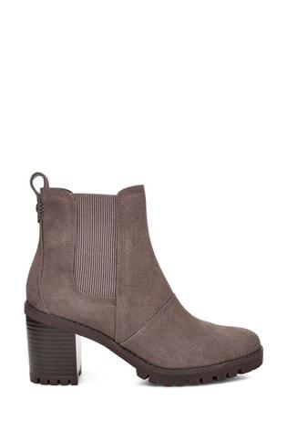 UGG® Grey Heeled Boots