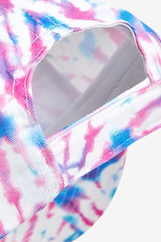 Pink/Blue Tie Dye Cap (3mths-6yrs)