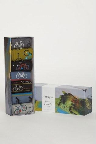 Thought Bike Rider Sock Box