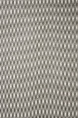 Grey Chenille Square Eyelet Curtains