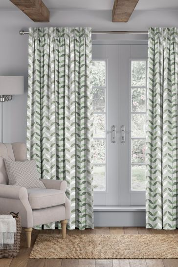 Green Bailey Made To Measure Curtains