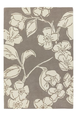 Matrix Floral Wool Rich Rug by Asiatic Rugs