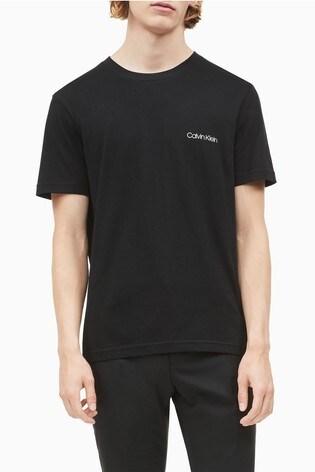 Calvin Klein Black Chest Logo T-Shirt