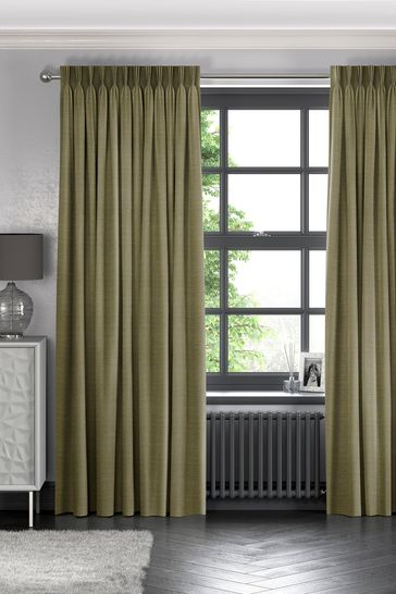 Jasper Olive Green Made To Measure Curtains