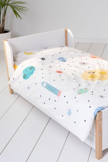 Space Duvet Cover and Pillowcase Set by EVE