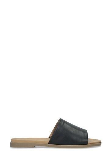 KG Kurt Geiger Black Rogue Sandals