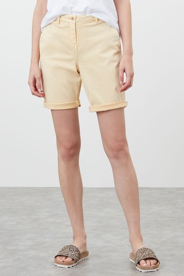 Joules Straw Cruise Longer Length Chino Shorts