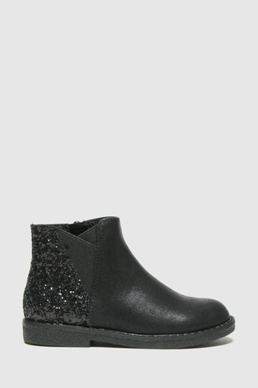 Schuh Black Comet Glitter Chelsea Boots