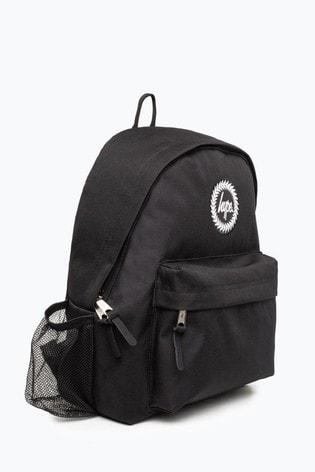 Hype. Black Crest Bottle Backpack