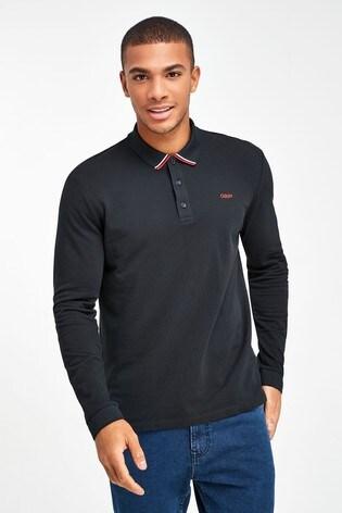 HUGO Black Donol Poloshirt