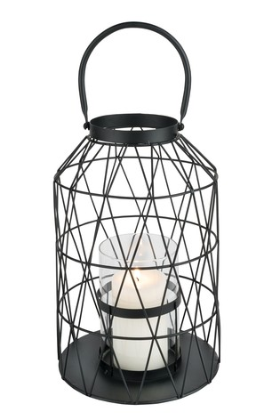 Round Metal Mesh Lantern by Outdoor Living Company