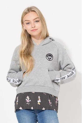 Hype. Disney™ Girl Squad Stripe Kids Pullover Hoodie