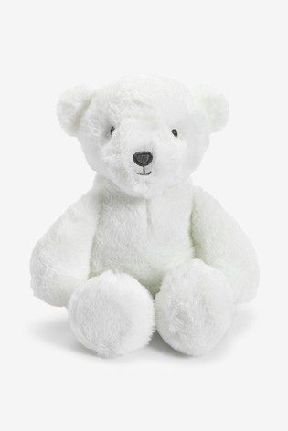 White Bear Soft Toy (Newborn)