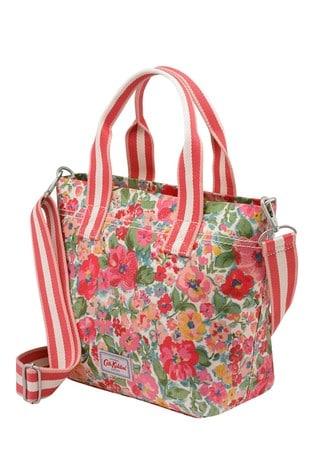 Cath Kidston Cream Casual Brampton Small Painted Bloom Tote Bag