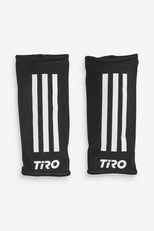 adidas White Tiro Shinguards