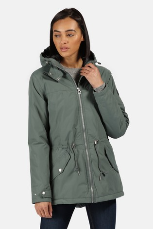 Regatta Green Brigid Waterproof Jacket