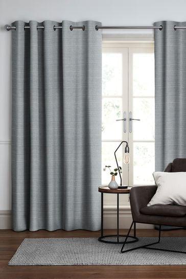 Jasper Ocean Blue Made To Measure Curtains