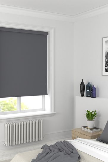 Star BO Clay Grey Made To Measure Blackout Roller Blind