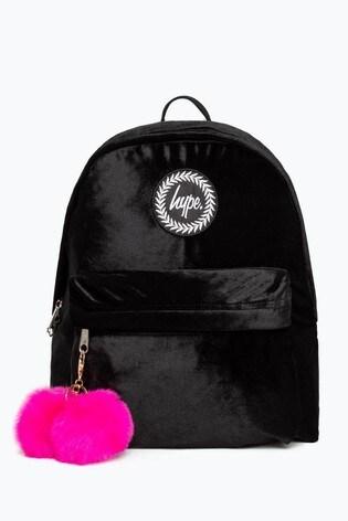 Hype. Velour Backpack