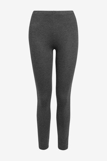 Grey Full Length Leggings