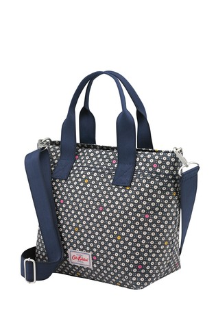 Cath Kidston Blue Casual Brampton Shadow Flower Pop Tote Bag