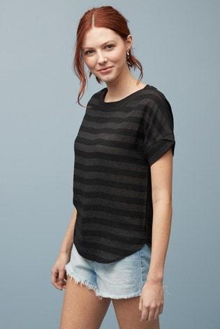 Black Stripe T-Shirt