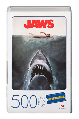 VHS Blockbuster Puzzle Jaws