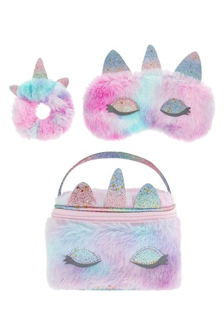 Monsoon Fluffy Unicorn Sleepover Kit