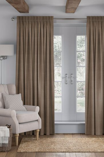 Jasper Bronze Brown Made To Measure Curtains