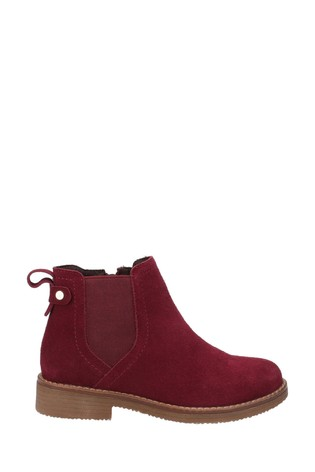 Hush Puppies Bordo Maddy Ladies Ankle Boots