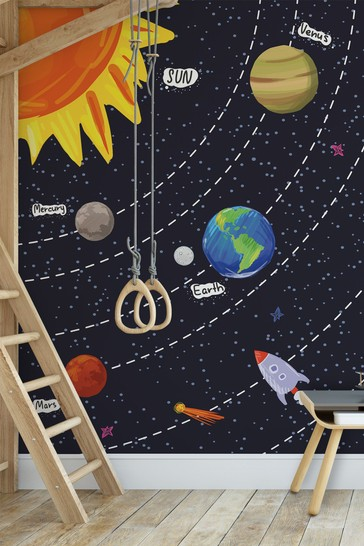 Solar System Mural by A Street