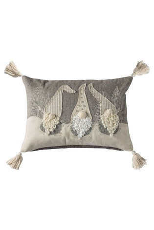 Nordic Gnomes Cushion by Gallery Direct