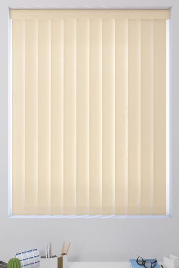 Canvas Beige Natural Made To Measure Vertical Blind