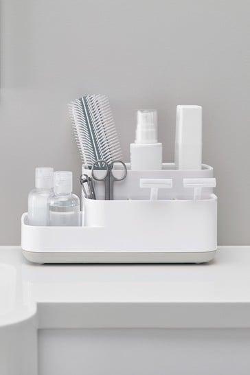 Joseph® Joseph EasyStore White And Grey Bathroom Caddy