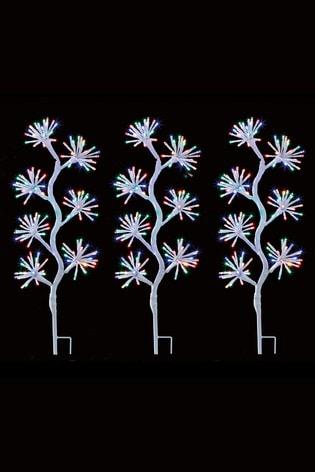 Starburst Path Twinkle Line Lights by Premier Decorations Ltd