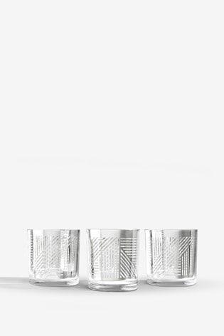 Set of 3 Beaumont Tealight Holders