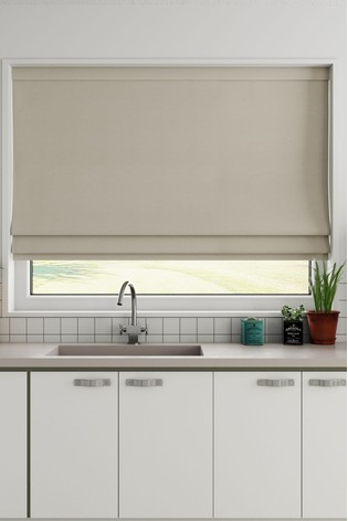 Cotton Natural Made to Measure Roman Blind